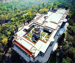 De visita al Castillo de Chapultepec